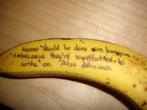 banana exam